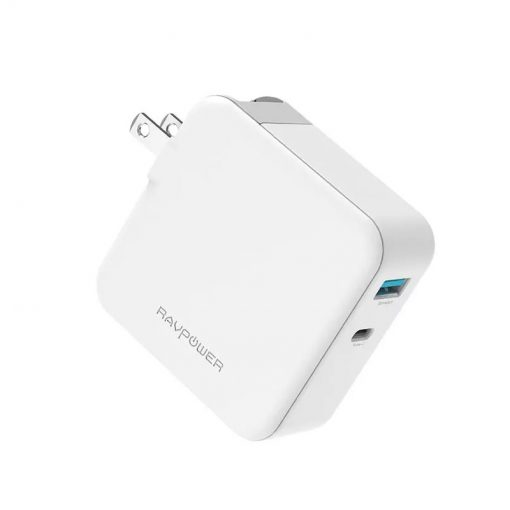 RAVPower 36W Dual-Port USB PD Wall Charger RP-PC080 White