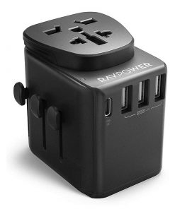 RAVPower Diplomat 30W 4-Port Travel Charger RP-PC099 Black