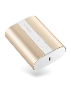 RAVPower Mini Power Bank 10000mAh 2-Port 18W PD Pioneer PD & QC Metallic Gold