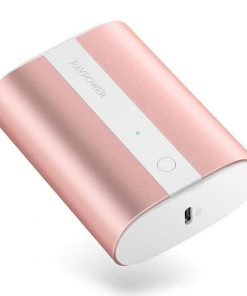 RAVPower Mini Power Bank 10000mAh 2-Port 18W PD Pioneer PD & QC Metallic Pink