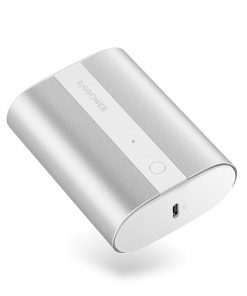 RAVPower Mini Power Bank 10000mAh 2-Port 18W PD Pioneer PD & QC Metallic Silver