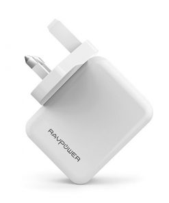 RAVPower Prime 24W 2-Port USB Wall Charger RP-PC001 White