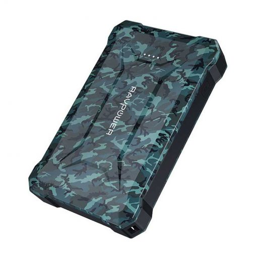 RAVPower Rugged Series 10050mAh Waterproof Portable Charger Power Bank RP-PB096 Camouflage