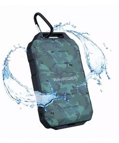 RAVPower Xtreme Series 10050mAh Waterproof Portable Charger Power Bank RP-PB044 Camouflage