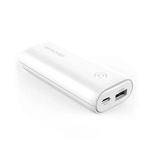 RAVPower iSmart Portable Charger 6700mAh RP-PB169 White