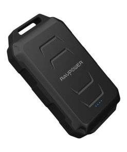 RAVPower Xtreme Series 10050mAh Waterproof Portable Charger Power Bank RP-PB044 - Black