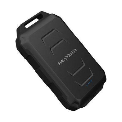 RAVPower Xtreme Series 10050mAh Waterproof Portable Charger Power Bank RP-PB044 - Black
