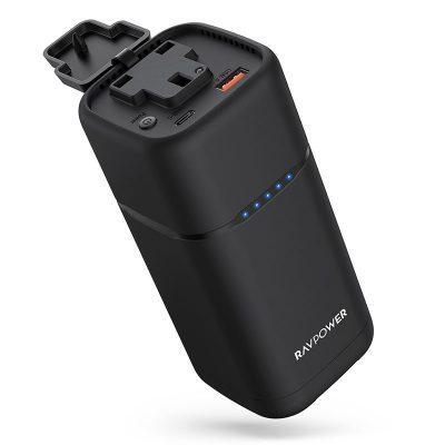 RAVPower RP-PB054 3-in-1 PD Pioneer 20000mAh 80W Power House - Black
